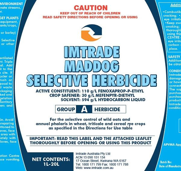 Imt Maddog Selective Herbicide