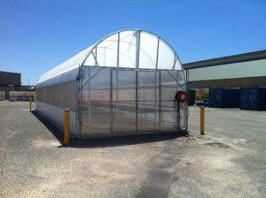 New greenhouse at Imtrade Kwinana