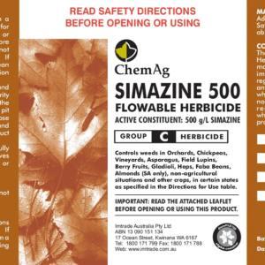 Simazine 500 Flowable Herbicide