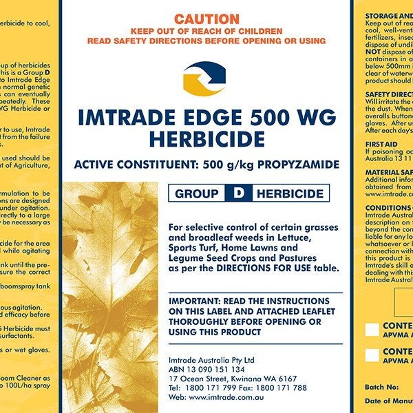 Edge 500 WG Herbicide