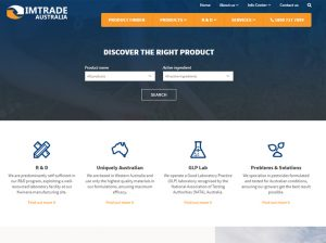 Imtrade Home page