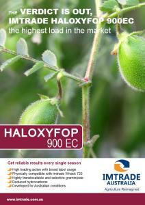 Haloxyfop 900 Technical Bulletin1