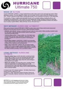 Hurricane Ultimate Technical Bulletin2