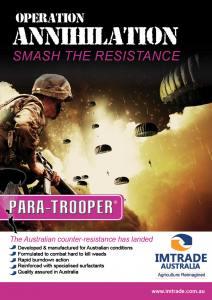 Para-Trooper Technical Bulletin01